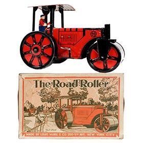 1931 Marx, The Road Roller in Original Box