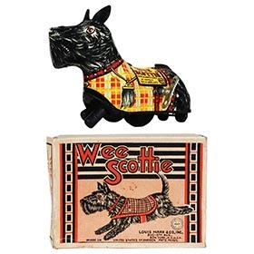 c.1940 Marx, Wee Scottie in Original Box
