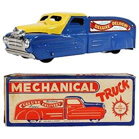 1940 Marx Mechanical Delivery Service Truck in Original Box