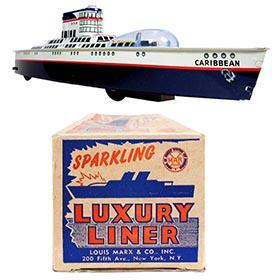 1954 Marx, Sparkling Luxury Liner in Original Box