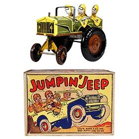 1947 Marx, Jumpin Jeep in Original Box