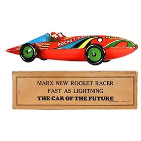 1935 Marx, New Rocket Racer in Original Box