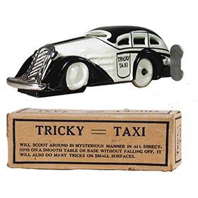 c.1939 Marx, Black & White Tricky Taxi in Original Box