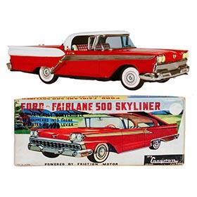 1959 Yonezawa, Ford Fairlane 500 Skyliner in Original Box