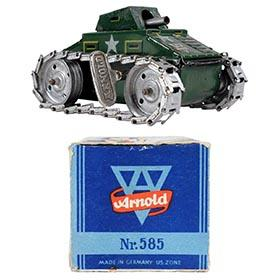 1948 Arnold, No.585 Clockwork Tank in Original Box