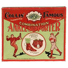 1929 Collis, Famous Combination Ankle Supporter in Original Box
