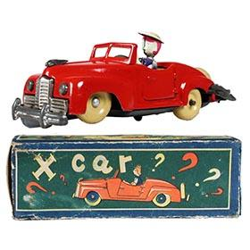 c.1947 KU Occupied Japan, X-Car in Original Box