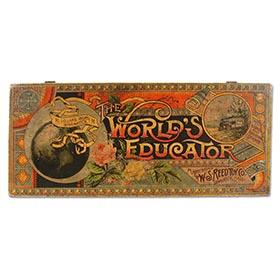 1887 Reed Toy Co., The World's Educator in Original Wooden Box