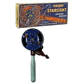 1926 Ronson, Starlight Magic Whirling Star Shower in Original Box