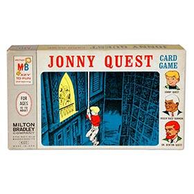1965 Milton Bradley, Jonny Quest Card Game, Sealed in Original Box