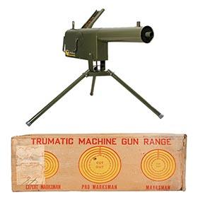 1953 Tru-Matic, No. 800 Machine Gun in Original Box