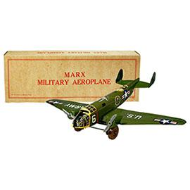 1951 Marx, Military Aeroplane in Original Box