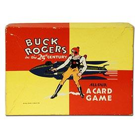 1936 Buck Rogers in The 25th Century Card Game in Original Box