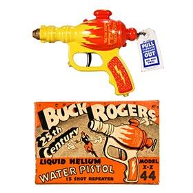1936 Daisy, Buck Rogers XZ-44 Liquid Helium Pistol in Original Box