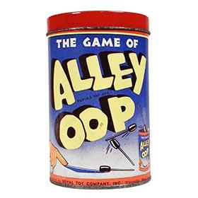 1937 Royal Toy, The Game of Alley Oop in Original Can