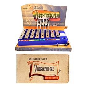 1957 Knickerbocker, Electric Toy Vibraphone in Original Box