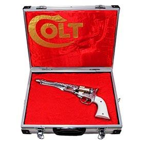 1959 Hubley, Colt .45 Cap Gun in Original Salesman's Attaché Case