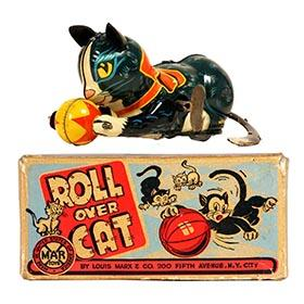 1951 Marx, Roll Over Cat in Original Box