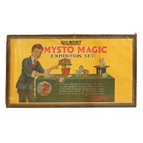 1930 Gilbert Mysto Magic Exhibition Set, Factory Sealed