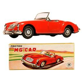 1959 Masudaya, MGA 1600 Convertible in Original Box