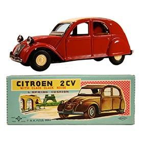 c.1960 Daiya (Terai), Citroen 2CV in Original Box