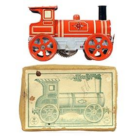 c.1911 Orobr, Clockwork Locomotive in Orig. Box
