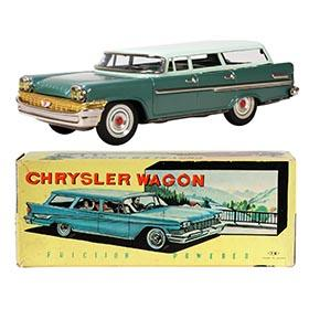 1958 Nomura, Chrysler New Yorker Station Wagon in Original Box