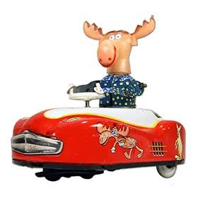 1962 Yoshiya, Mechanical Rocky and Bullwinkle Car