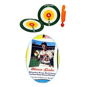 1958 Warren Spahn Whirly Bird Game in Original Box