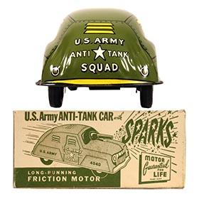 c.1948 Courtland, U.S. Army Anti-Tank Car in Original Box