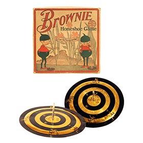 1915 M.H. Miller Co., Brownie Horseshoe Game in Original Box