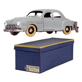 c.1951 CIJ, Renault Fregate Clockwork Sedan in Original Box