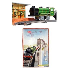 c.1947 Mettoy, 14pc. Passenger Train Set in Original Box
