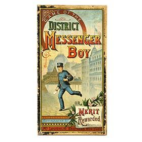 1886 McLoughlin, District Messenger Boy in Original Box