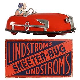 c.1930 Lindstrom's Skeeter-Bug in Original (Red) Box