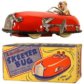 c.1935 Lindstrom, Skeeter Bug in Original (Yellow) Box