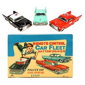 c.1957 Kaname, Remote Control Car Fleet in Original Box