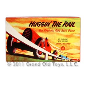 1948 Selchow Righter Huggin The Rail Game In Original Box