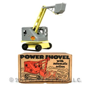 1964 Marx No 1782 Lumar Power Shovel In Original Box