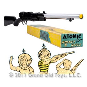1951 Marx Atomic Rocket Rifle In Original Box