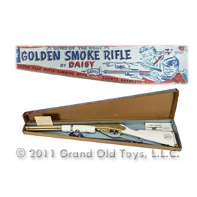 1956 Daisy, Annie Oakley Golden Smoke Rifle In Original Box
