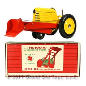 1946 Super Six Jr Hydra Lift Tractor In Original Box