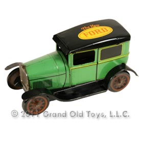 1927 Upton Co. Model A, The New Ford Tinplate Promo