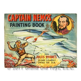 c.1950 Collins Press Captain Nemos Painting Book