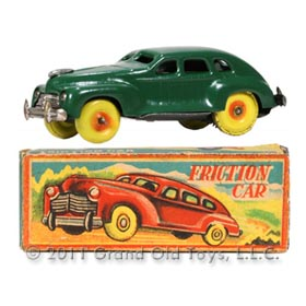 c.1946 Occupied Japan Friction Car In Original Box