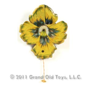 c.1922 Kellerman No 260 Mechanical Pansy Brooch