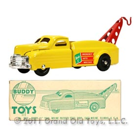 1953 Buddy L No 3317 Emergency Auto Wrecker In Original Box