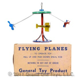 c.1947 General Toy Product Flying Planes In Original Box