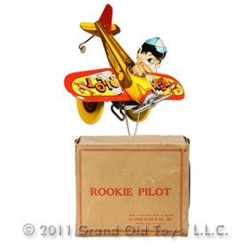 c.1940 Marx Rookie Pilot In Original Box