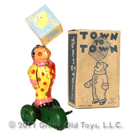 c.1950 Kuramochi Town To Town In Original Box